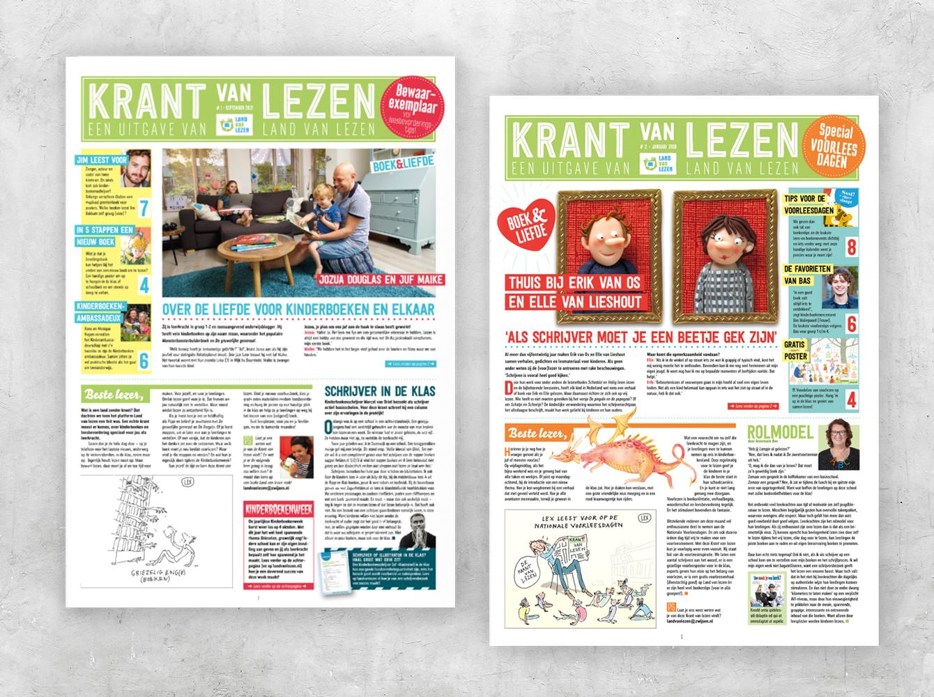 Krant van Lezen